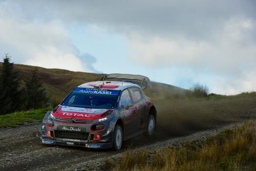 WRC18 Galles. Intrattabile Ogier (Ford), e fanno 5 (4)