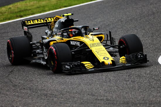 Decimo posto per Carlos Sainz in Giappone