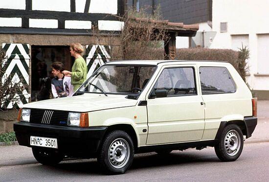 Anche la vecchia Fiat Panda, con i modelli dal 2001, divenne Euro3