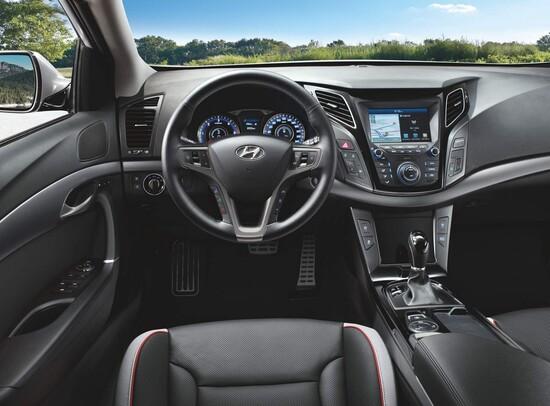 Gli interni della nuova Hyundai i40