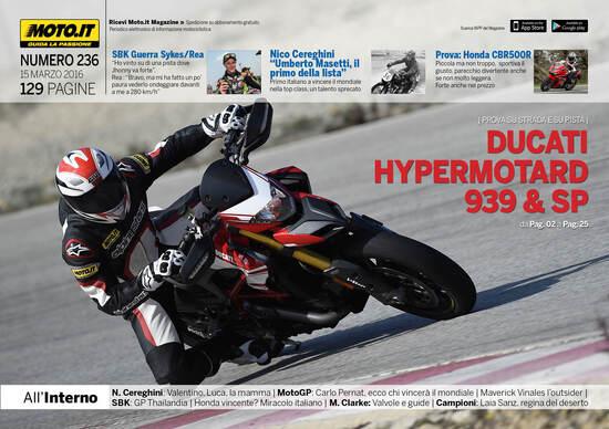 Magazine n°236, scarica e leggi il meglio di Moto.it