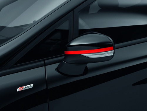 Ford Fiesta Red e Black Edition, due livree sportive per la ST-Line (4)