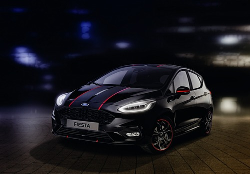 Ford Fiesta Red e Black Edition, due livree sportive per la ST-Line