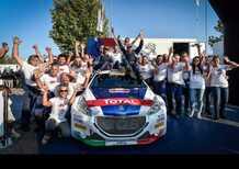 CIR 2018. Andreucci-Andreussi-Peugeot- Campioni d'Italia