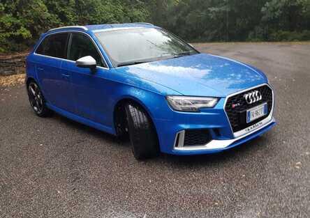 Audi RS3: Scoppietta, ruggisce, si stiracchia, ma sa anche andar piano [video]
