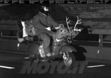 Scooterista preso per le corna dall'autovelox