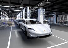 Porsche, il futuro è la Taycan