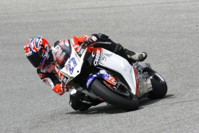 Stoner sulla Honda RC211V del team LCR