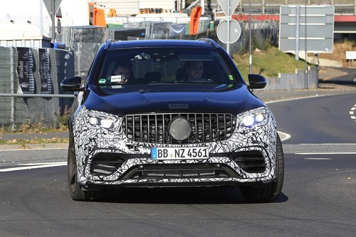 Mercedes-AMG GLC 63, restyling in arrivo (6)