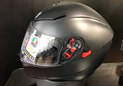 K3 SV MATT BLACK Agv