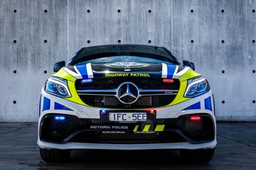 Mercedes-AMG GLE 63 S coupé al servizio della polizia australiana (2)