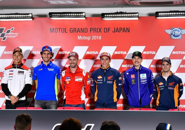 MotoGP 2018. I temi alla vigilia del GP del Giappone