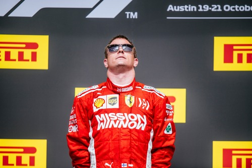 F1, GP USA 2018, Raikkonen: «Meglio vincere che arrivare secondo»