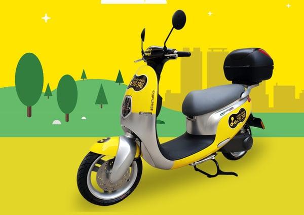 Scooter sharing. Zig Zag diventa elettrico