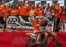 Antonio Cairoli Campione del Mondo MX1 2010!
