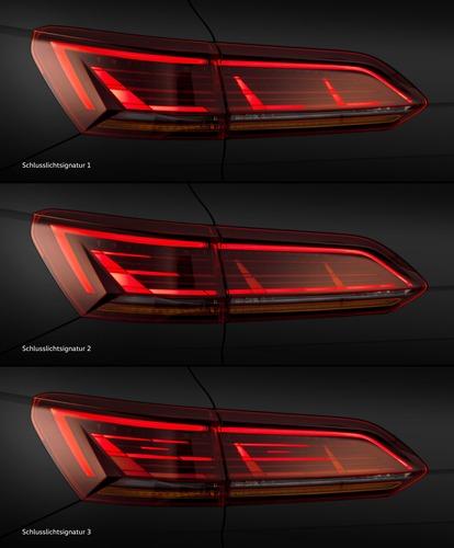 VW, Illuminazione: nuovi gruppi ottici e segnalazioni visive dell'auto (Parte3 - Video) (2)