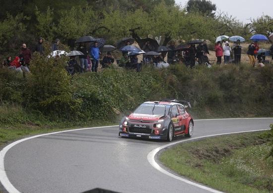 WRC 2018/Citroen. RallyRACC Catalunya 2. Sébastien Loeb, Gara incredibile: è terzo assoluto