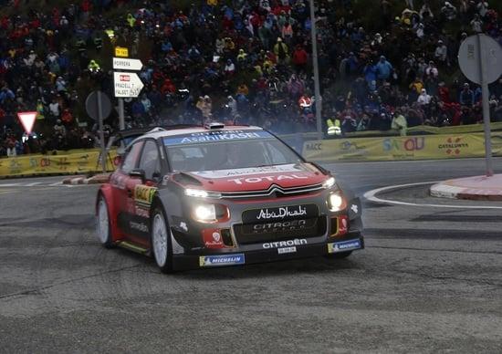 "RallyRACC Catalunya Finale. Citroen C3 WRC e Sébastien Loeb, ""The Incredibles"""