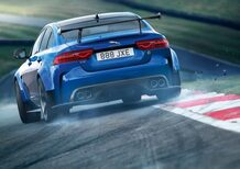 Jaguar XE Project 8, giro in taxi al Ring