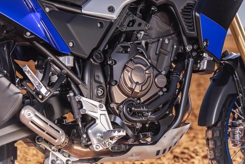 La base motoristica è quella del bicilindrico CP2 da 700cc