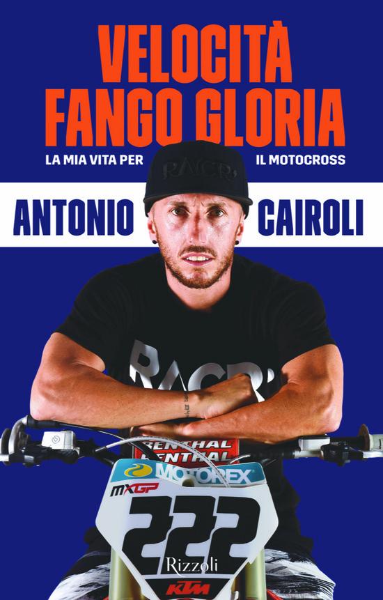 La copertina del libro di Cairoli