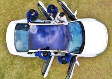 Hyundai e Kia introducono un sistema di ricarica con pannelli solari
