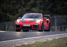 Record al Nurburgring per la Porsche GT2 RS Manthey Racing [Video]