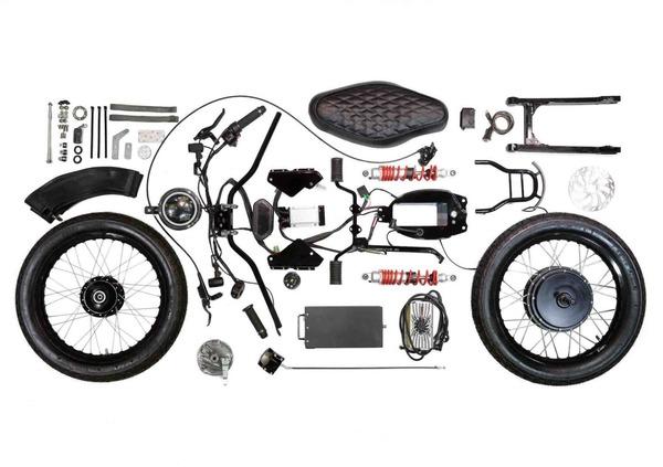 Honda eCub, il kit plug and play per rendere lo scooter di Honda elettrico e green