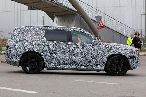 Mercedes-Maybach GLS, le foto spia (5)