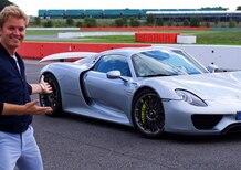 Nico Rosberg al volante della Porsche 918 Spyder [Video]