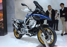EICMA 2018: BMW R 1250 GS Adventure, foto, video e dati