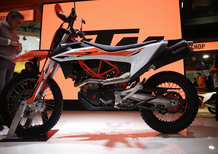EICMA 2018: KTM 690 Enduro R e SMC R, foto, video e dati