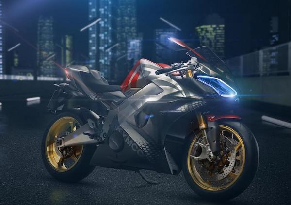 Kymco SuperNEX, la supersportiva elettrica di Eicma 2018