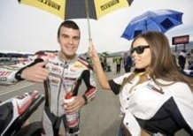 Nel 2011 Scassa in Supersport con il team BE1 Triumph