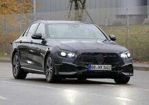 Mercedes-Benz Classe E, restyling in arrivo [Foto spia]