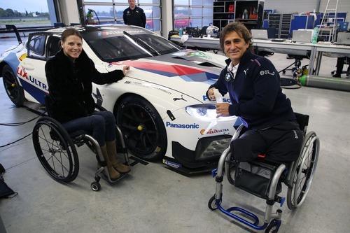 Alex Zanardi verso la 24h di Daytona 2019: completati i test sulla BMW M8 GTE (9)
