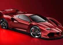 Ferrari F40, nuovo modello? No, solo come sarebbe oggi