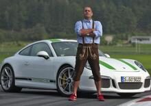 Chris Harris vittima di un incidente con la sua Porsche in UK