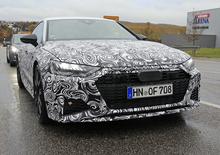 Audi RS7 2019, le foto spia