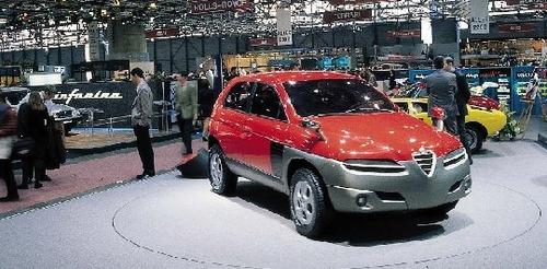 Alfa Romeo Sportut, il SUV del Biscione (mai) nato 20 anni fa (4)