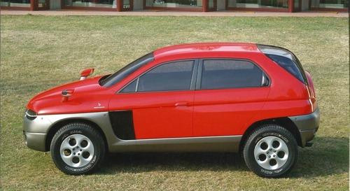 Alfa Romeo Sportut, il SUV del Biscione (mai) nato 20 anni fa (3)