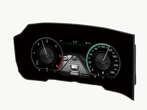 Volkswagen Touareg, il quadro strumenti diventa curvo (3)