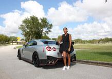 Nissan GT-R Nismo, con Naomi Osaka per gli allenamenti