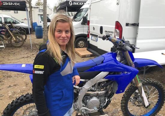 WMX: Kiara Fontanesi annucia l'arrivo di Larissa Papenmeier nel suo team