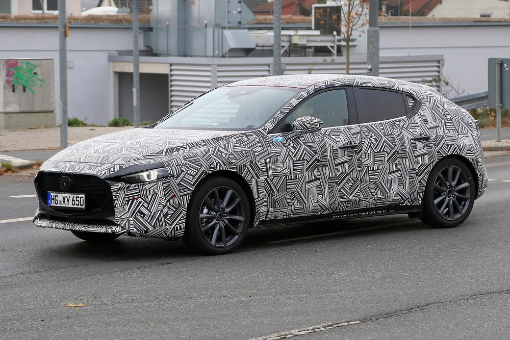 Mazda 3 2019 Nuove Foto Spia News Automoto It