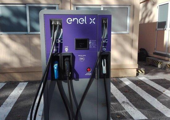 Enel X, colonnine anche nel Parco del Cilento