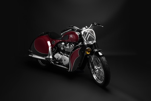 La crew di South Garage ha creato la special su base Triumph Bonneville a carburatori