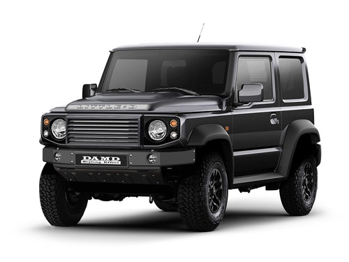Classe G o Defender? No, Suzuki Jimny Special [video - foto gallery]