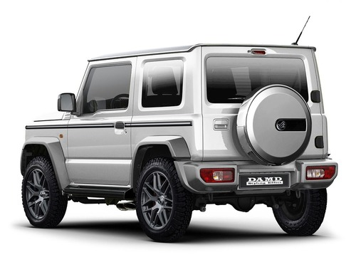 Classe G o Defender? No, Suzuki Jimny Special [video - foto gallery] (4)