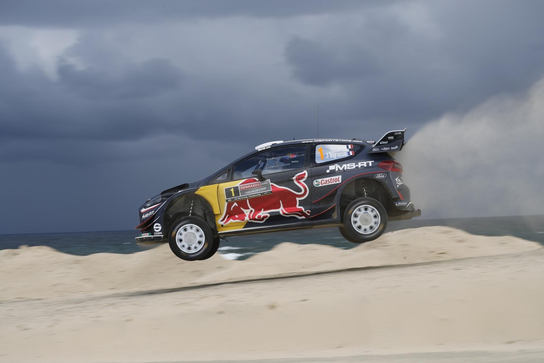 WRC18 Australia. Sébastien Ogier & Malcolm Wilson